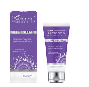 Bielenda Professional Supremelab Microbiome Pro Care Ratunkowa maseczka łagodząco-nawilżająca (70 ml)