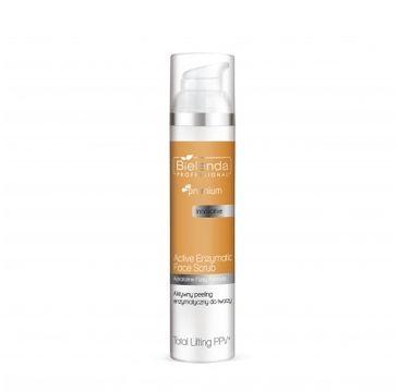 Bielenda Professional Total Lifting PPV+ Aktywny peeling enzymatyczny do twarzy (100 g)