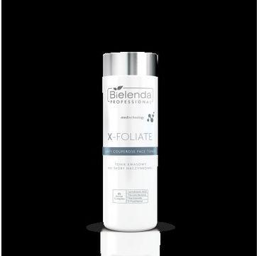 Bielenda Professional X- Foliate Anti Couperose Tonik kwasowy do skóry naczynkowej (200 ml)