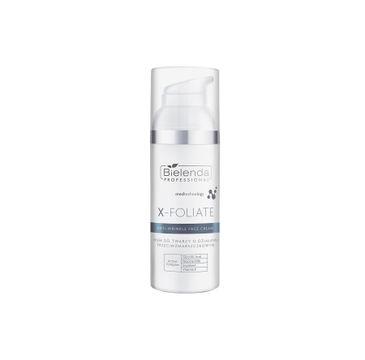 Bielenda Professional X- FOLIATE Anti Wrinkle krem do twarzy o działaniu przeciwzmarszczkowym (50 ml)