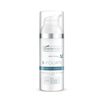 Bielenda Professional X- Foliate RegenerujÄ…cy krem do twarzy z CICA (50 ml)