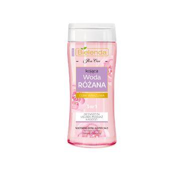 Bielenda Rose Care - woda różana 3w1 do cery młodej i wrażliwej (200 ml)