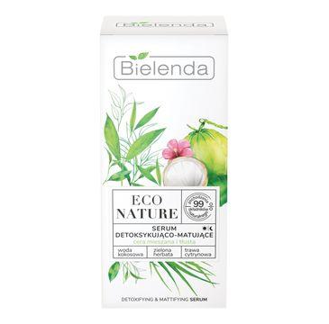 Bielenda – Serum detoksykująco-matujące Woda Kokosowa Eco Nature (30 ml)