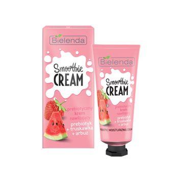 Bielenda Smoothie Cream - prebiotyczny krem do twarzy nawilżający truskawkowo-arbuzowy (50 ml)