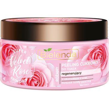 Bielenda Super Skin Diet Velvet Rose (peeling cukrowy do ciała 350 g)
