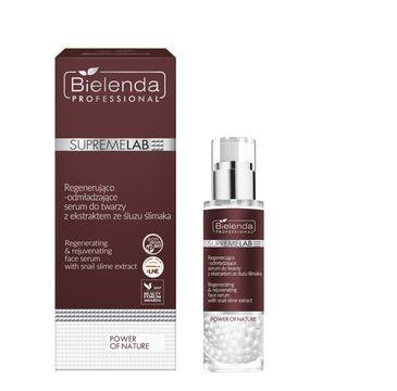 Bielenda Professional SupremeLab Power of Nature Regenerująco-odmładzające serum do twarzy z ekstraktem ze śluzu ślimaka (30 g)