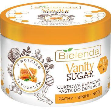 Bielenda – Vanity Sugar Cukrowa kremowa pasta do depilacji z woskiem pszczelim (100 g)