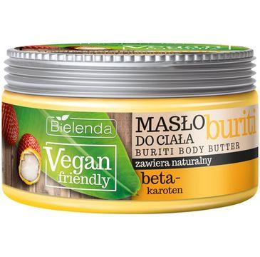 Bielenda Vegan Friendly -  masło do każdego typu skóry poprawia kondycję i wygląd skóry (250 ml)