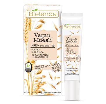 Bielenda Vegan Muesli – krem pod oczy nawilżająco-kojący (6 ml)