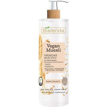 Bielenda Vegan Muesli – kremowe mleczko do mycia twarzy (175 g)