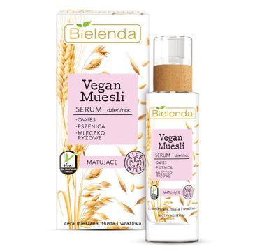 Bielenda Vegan Muesli – serum matujące na dzień i na noc (30 ml)