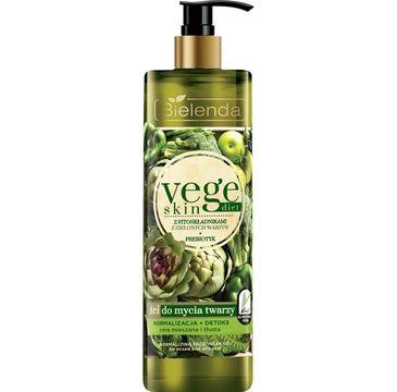 Bielenda Vege Skin Diet - żel do mycia twarzy normalizacja + detoks (200 g)