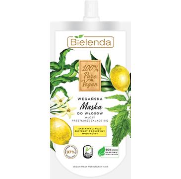Bielenda – Wegańska maska do włosów przetłuszczających się (125 ml)