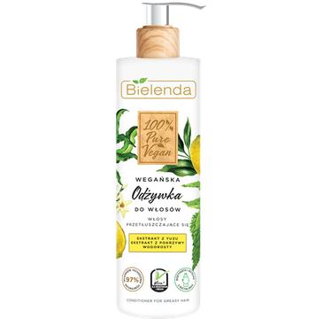 Bielenda – Odżywka 100% Pure Vegan do włosów przetłuszczających się (240 ml)