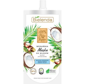 Bielenda – Maska do włosów zniszczonych 100% Pure Vegan (125 ml)