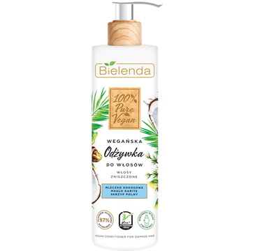 Bielenda – Odżywka do włosów zniszczonych 100% Pure Vegan (240 ml)