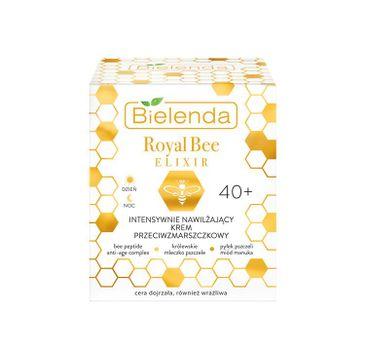 Bielenda – Intensywnie nawilżający krem przeciwzmarszczkowy 40+ na dzień/noc Royal Bee Elixir (50 ml)