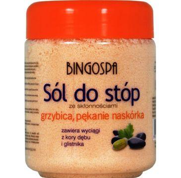 BingoSpa Sól do stóp ze skłonnościami do grzybicy i pękania naskórka 550g