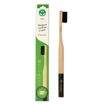Bio4You – Bambusowa szczoteczka do zębów czarna (1 szt.)