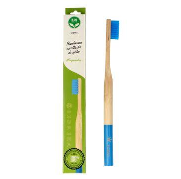 Bio4You – Bambusowa szczoteczka do zębów niebieska (1 szt.)