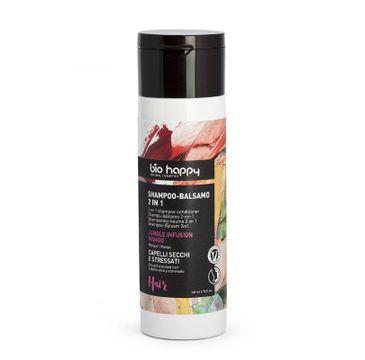 Bio Happy 2-in-1 Shampoo-Conditioner szampon i odżywka do włosów 2w1 Jungle Infusion Mango (200 ml)