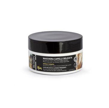 Bio Happy Delicate Hair Mask nawilżająca maska do włosów Owies i Konopie (150 ml)