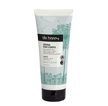 Bio Happy Neutral & Delicate delikatny balsam do twarzy i ciała Masło Shea (200 ml)