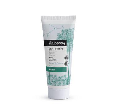Bio Happy – Toothpaste pasta do zębów bez fluoru Mięta (75 g)
