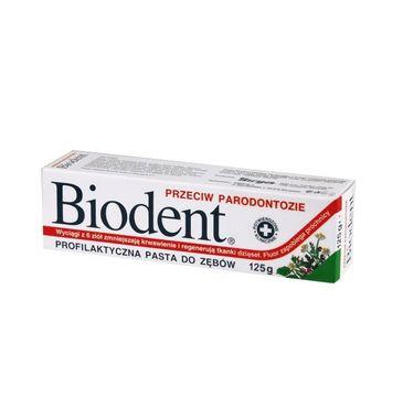 Biodent pasta do zębów przeciw parodontozie 125 g