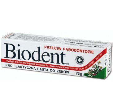 Biodent pasta do zębów przeciw parodontozie 75 g