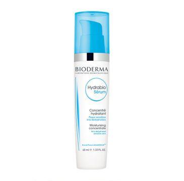 Bioderma Hydrabio Serum skoncentrowane serum intensywnie nawilżające do twarzy (40 ml)
