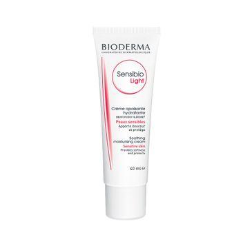 Bioderma – Sensibio Light łagodząco-nawilżający krem do twarzy do skóry wrażliwej (40 ml)