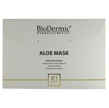 BioDermic Aloe Mask maska aloesowa oczyszczająco-łagodząca w płacie 25ml