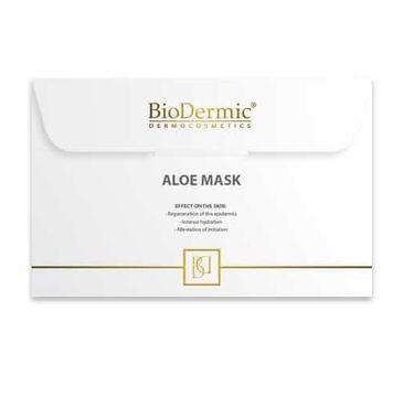 Biodermic – Aloesowa maska do twarzy (1 szt.)