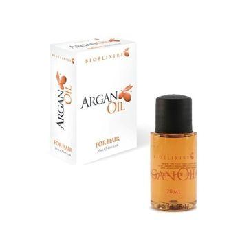 BIOELIXIRE Argan Oil Serum olejek arganowy do włosów 20ml