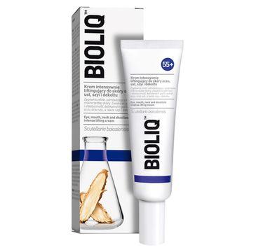 Bioliq – 55+ krem intensywnie liftingujący do skóry oczu ust szyi i dekoltu(30 ml)