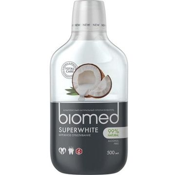 Biomed – Płyn do płukania jamy ustnej Superwhite (500 ml)