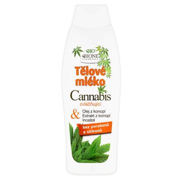 Bione Cosmetics Bio Cannabis balsam do ciała z inozytolem 500ml