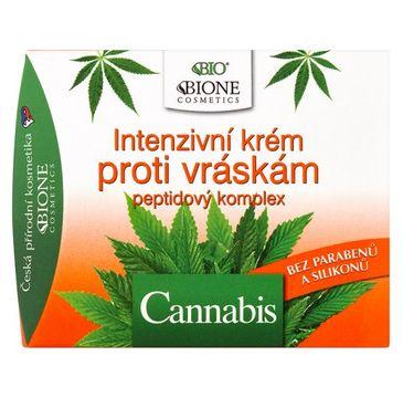 Bione Cosmetics Bio Cannabis krem przeciwzmarszczkowy 51ml
