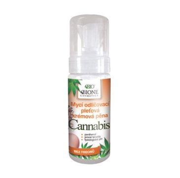 Bione Cosmetics Bio Cannabis kremowa pianka do mycia twarzy 150ml