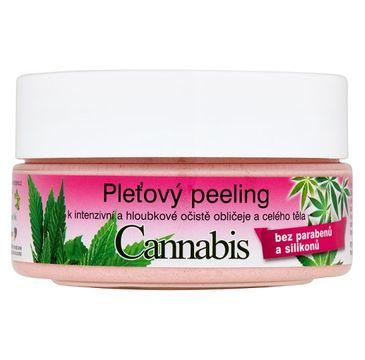 Bione Cosmetics Bio Cannabis peeling do twarzy i ciała 200g