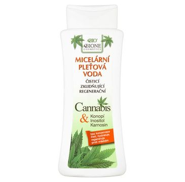 Bione Cosmetics Bio Cannabis płyn micelarny do demakijażu 255ml