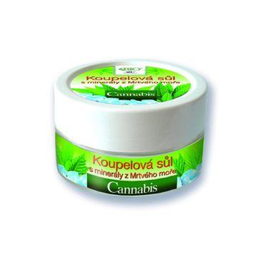 Bione Cosmetics Bio Cannabis sól do kąpieli z minerałami z Morza Martwego 200g