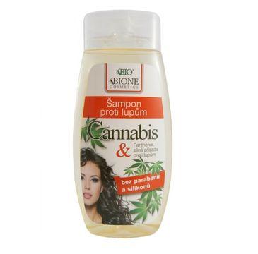 Bione Cosmetics Bio Cannabis szampon przeciwłupieżowy dla kobiet 260ml