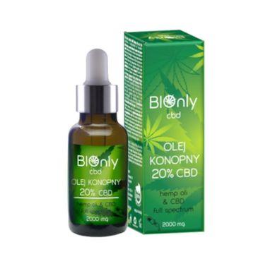 BIOnly Olej konopny 20% CBD (2000 mg)