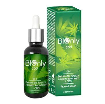 BIOnly Cbd Serum do twarzy z olejkiem konopnym (30 ml)