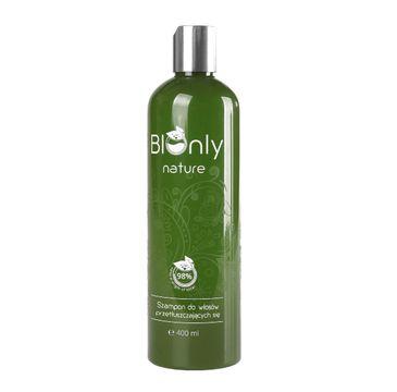 BIOnly Nature szampon do włosów przetłuszczających się 400 ml