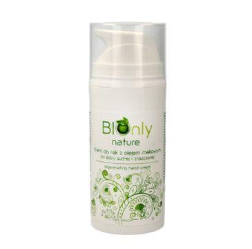 BIOnly –Nawilżające mleczko do rąk i ciała z olejem makowym (1 szt.)