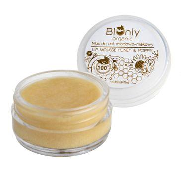 BIOnly Organic Mus do ust miodowo-makowy (10 ml)