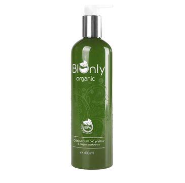 BIOnly Organic odżywczy żel pod prysznic z olejem makowym 400 ml